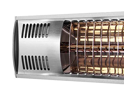 Firefly 3.000 Watt Infrarot-Heizstrahler (Goldröhre), Terrassenheizung Wandmontage, 2 Leistungsstufen, inkl. Fernbedienung - 5
