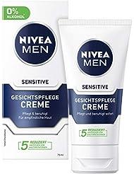 Nivea Men Sensitive Gesichtspflege Creme (2 x 75 ml)