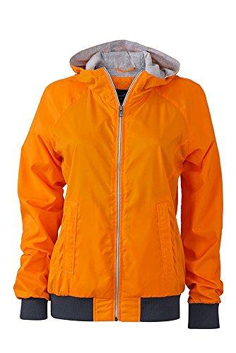 Ladies' Sports Jacket in orange/navy Size: XXL
