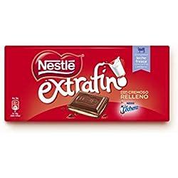 2 de Nestlé Extrafino Chocolate con leche extrafino relleno de crema de leche - 120 gr