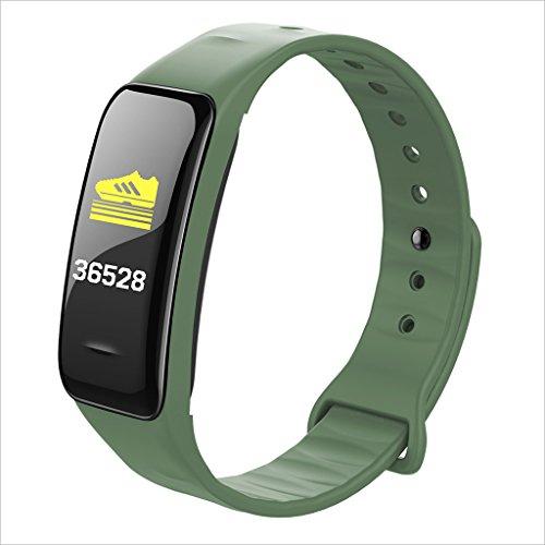 XHZNDZ Fitness-Tracker/Smart-Armband, Smart Watch Wasserdicht Schrittzähler Activity Tracker mit Schlaf-Monitor, Pulsmesser, Blutdruck/Sauerstoff-Monitor Bluetooth für IOS & Android-Handys