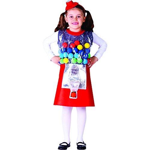 Kostüm Gumball - Dress Up America Size (12-14) Gumball Machine Costume (L) by Dress Up America