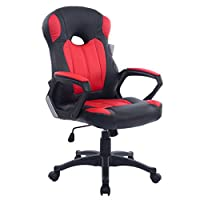Cherry Tree Racing Gaming Style PU Leather Swivel Office Chair in 2 Colours