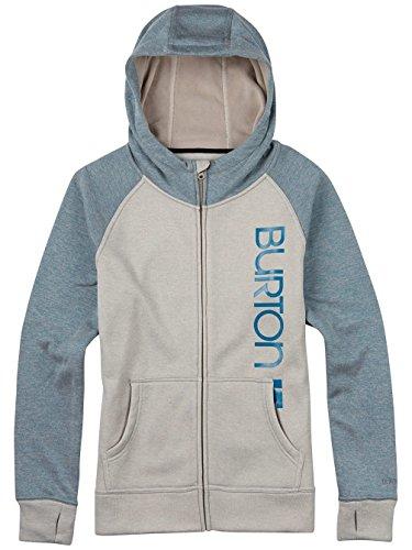Burton Damen Quartz Full-Zip Hoodie dove heather