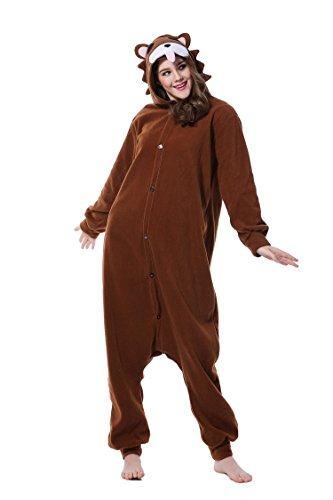 r Cosplay Unisex Tierschlafanzug Halloween Weihnachten Karnevals Geburtstags Party (S) (Bar Themen-halloween-kostüme)