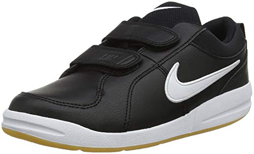 Nike Pico 4 (PSV), Chaussures de Tennis garçon, Noir (Black/White/Gum Light Brown 023), 34 EU