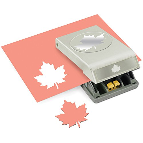 Unbekannt EK Success Tools Papier, groß, Maple Leaf, neue Paket - Punch-maple Leaf
