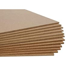 WOODCRAFT Wood MDF Board Sheets, 2mm Thickness, Size 12X12 inch - Pack of 6