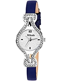 Mikado Fenny White Analog Watch For Women And Girls Watch - For Girls