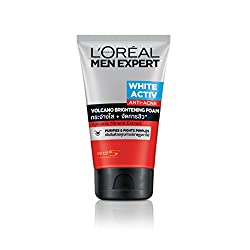 Loreal Men Expert White Active Anti-Acne Volcano Brightening Foam, 100 ml
