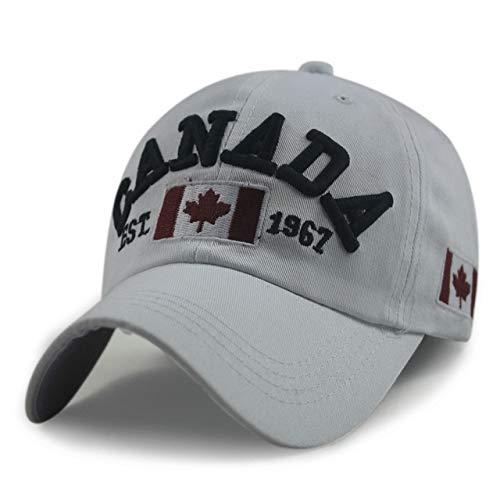 Neuheiten Baumwolle Gorras Kanada Kappe Flagge Von Kanada Hut Hysteresen Adjuatable Herren Baseballmützen Nagelneu Für Erwachsene