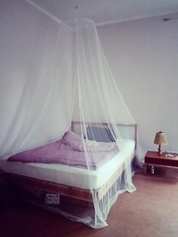 Anti Insectes Moustiquaire–Extra Large, extra large–pour lit double jusqu'à 180cm–Dimensions: