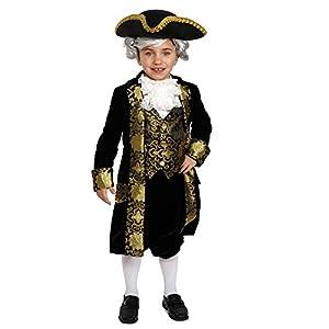 Dress up America George Washington disfraz histórico Washington Outfit para Niños