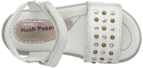 Hush Puppies Maldon, Sandales fille Blanc Cassé - Bianco (bianco)
