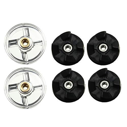 DADEQISH 2 stücke kunststoff getriebe basis und 4 stücke gummi getriebe für magic mixer ersatzteile ersatz Werkzeugzubehör - Getriebe Mixer