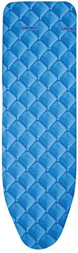 Leifheit 72255 Cotton Comfort Universal Vs Bügeltischbezug, Stoff, blau Soft, 140 x 45 x 1 cm