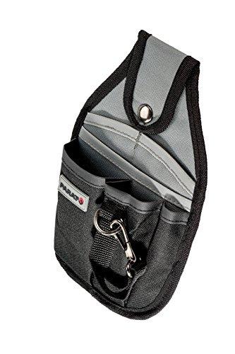 PARAT 5990.816-999 Gürteltasche einfach, klein grau, schwarz (Ohne Inhalt)