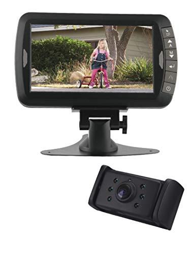 Pro-User DRC7010 20132 Digitales Funk-Rückfahrkamerasystem für 12V und 24V Systeme mit 7,0 Zoll Monitor und Nachtsichtkamera ohne Signalstörungen (Baum Monitor)