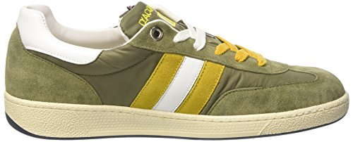 D'Acquasparta Ghiberti, Sneakers basses homme Verde (Verde/Giallo)