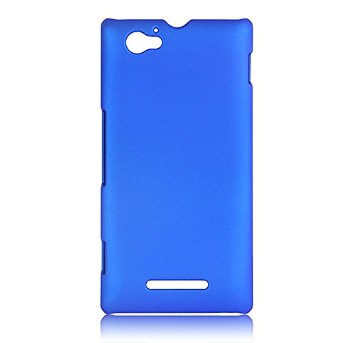 WOW Imagine Rubberised Matte Hard Case Back Cover For SONY XPERIA M (Uber Blue)  available at amazon for Rs.249