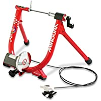 Minoura Live Ride 340 Road Bike Cycling Magnetic Resistance Indoor Quiet Exercise Turbo Trainer Red