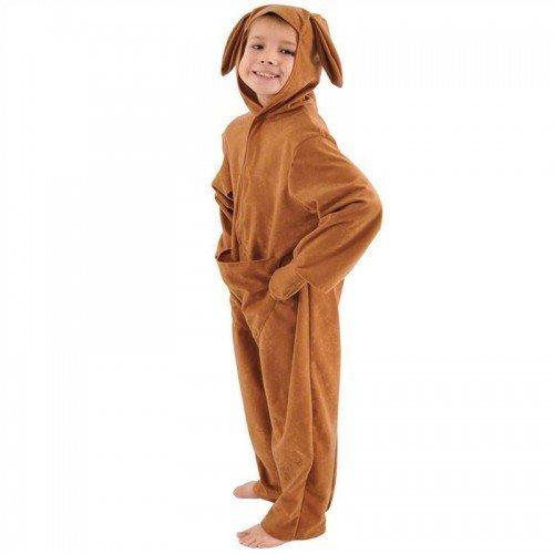 ralisch Känguru Tier Buch Tag Woche Verkleidung Kleid Kostüm Outfit - Braun, 8-10 years (140cms) (Känguru Kostüm Mit Tasche)
