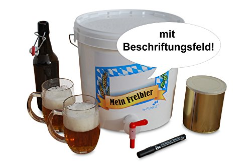 Mein Freibier - Das Bier Brau Set für Zuhause Dunkles