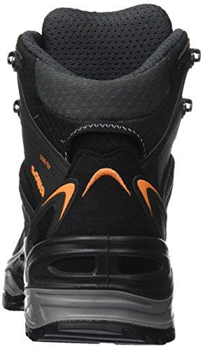 Arancione Nero Metà nero Trekking Scarpe Da Gtx Iowa Innox Uomo Bassa f4H8v