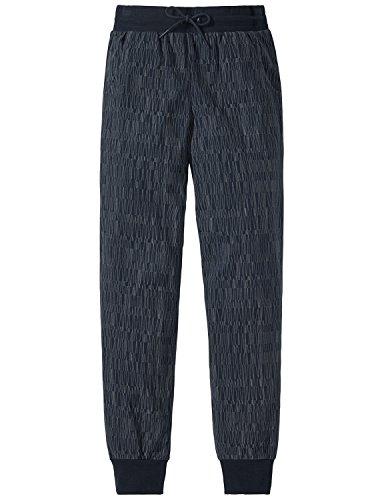 Schiesser Jungen Schlafanzughose Mix & Relax Jerseypants Blau (Nachtblau 804), 176 (Herstellergröße: L)