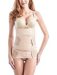 TIRAIN 2 en1 soutien ceinture post-partum pour les femmes après l'accouchement ceinture récupération élastique ceinture gaine femme ceinture pelvienne ceinture abdominale