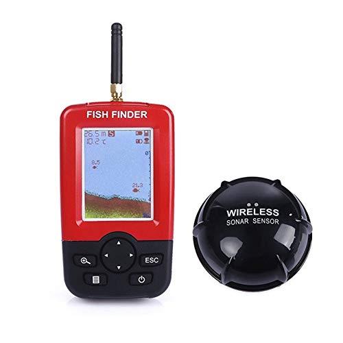 Evav-YTY Fish Finder Wireless Echolot Fish Finder Alarm Unterwasserfischen Kamera Echo Sonar Sensor Fishfinder Detektor Wandler Tragbaren Sonar-fishfinder
