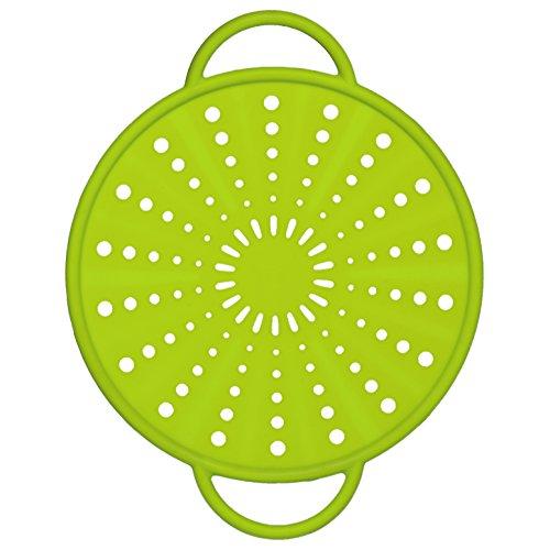 514556 Smart Kitchen silicone splash & splatter guard Ø 21 cm, green