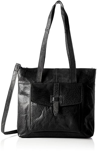 Spikes & Sparrow - Zip Bag, Appendi borsa tascabili e ganci Donna Nero (Black)