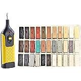 Reparatieset complete set voor hout, keramiek, kunststof reparatieset steenoppervlakken, 39-delig, 33 verschillende tinten in