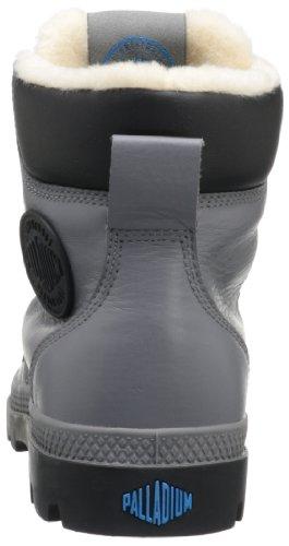 PalladiumPampa Sport Cuff WPS - Stivaletti imbottiti Desert con imbottitura calda Unisex – adulto Grigio (Grau (Castle Rock/Black))