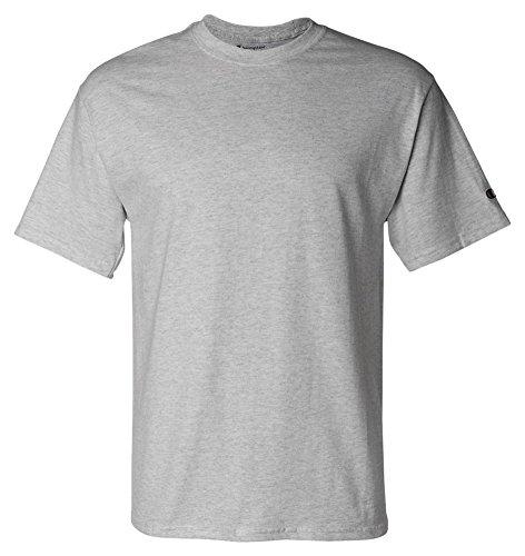 Champion Adult Short-Sleeve T-Shirt Light Steel (90/10)