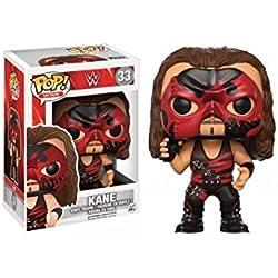 Funko 13443 - Wwe Wrestling, Pop Vinyl Figure 33 Red Suit Kane