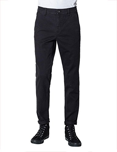 Cheap Monday Men's Slack Men's Black Chino Pants In Size W32 L32 Black