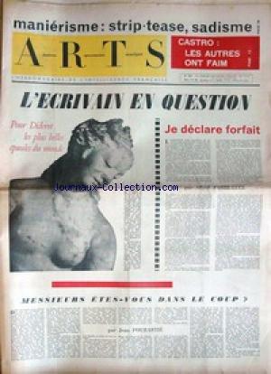 ARTS [No 943] du 01/01/1964