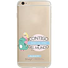 Funda Carcasa TPU Silicona MR Wonderful iPhone 6 /6S - Todos los modelos (Modelo 1)