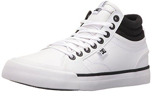DC Frauen Evan Hallo Skate-Schuhe, EUR: 39, Black/White