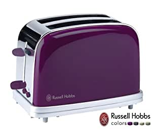 RUSSELL HOBBS Grille-pain Colors 18012-56 - prune
