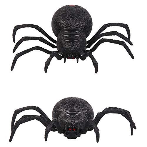 SkryoFernbedienung Spider Scary Wolf Spider Robot Realistische Neuheit Streich Spielzeug Geschenke