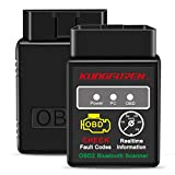 Best Obd2 Bluetooths - kungfuren OBD2 Bluetooth Scanner, OBD 2 Reader Car Review