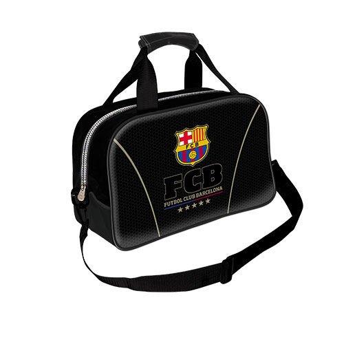 Karactermania Fc Barcelona  Bolsa de Deporte Infantil, 38 cm, , Negro