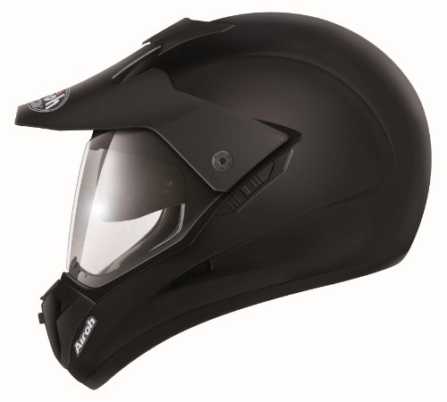 Airoh S511L Casco, Color Negro, Talla 59-60 cm