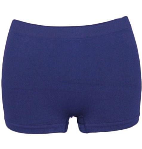 Mädchen Microfiber Hot Pants Kurze Hose Tanzen Fitness-Studio Stretch Shorts Alter 5-12 (Alter 9-10, Königsblau)