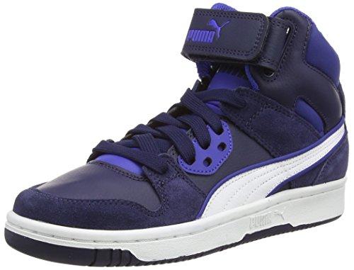 PumaPuma Rebound Street SD Jr - Sneaker Unisex - bambino Blu (Blau (peacoat-surf the web 05))