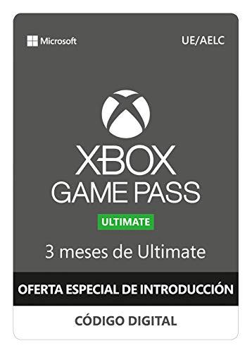 Oferta: Xbox Game Pass Ultimate -  3 Meses | Una compra por cliente