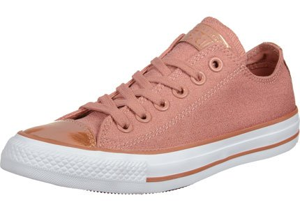 Chaussures All Star Brush Off Leather Pink/White W h16 - Converse Rose